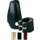 Ligature cuir vandoren saxophone baryton et couvre bec cuir