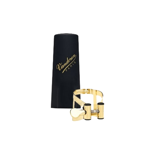 Ligature plaquée or m/o master / optimum vandoren clarinette sib bec master