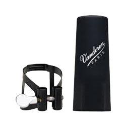 Ligature m/o black master / optimum vandoren clarinet alto