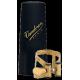 Ligature m/o master / optimum vandoren antique gold baritone saxophone bec v16