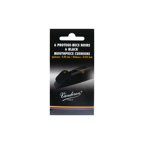 6 pellets black protects-nose with 0.8 mm Vandoren