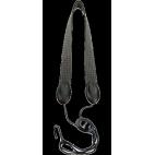 コードリコD'addario快適アルト、ソプラノ、ブラック/グレーのフック金属