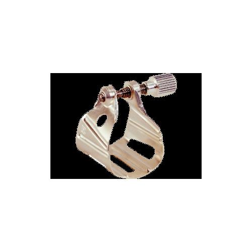 Ligature bg métal jazz argent mat saxophone alto et ténor