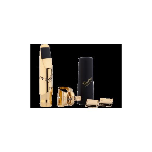 Bec Saxofón Tenor Vandoren Kit v16 t8 s + ligadura óptimo+ 3 pastillas