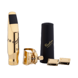 Bec Saxophone Ténor Vandoren Kit v16 t8 m + ligature optimum+ 3 plaquettes