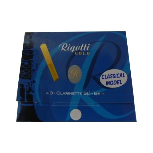Mundstück Bb-Klarinette Rigotti gold classic, stärke 2.5 x3