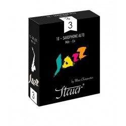Boîte de 10 anches Jazz Classic saxophone alto force 2