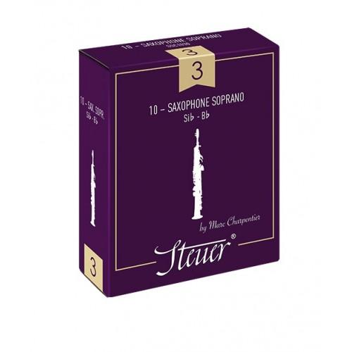 ボックスの10芦Steuerクラシックソプラノsax、強度3