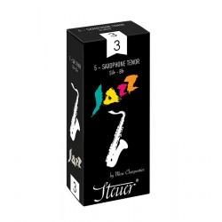 Boîte de 5 anches Steuer Jazz saxophone tenor force 2