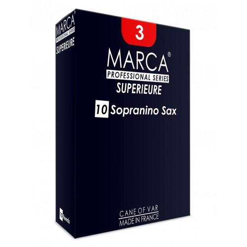 ボックスの10芦コバデカンマルカの優れたeb Sopraninoサックスの強度2.5