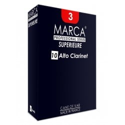 Reed Clarinet Alto Marca superior force of 2.5 x10