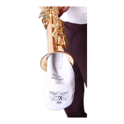 Ecouvillon BG pour saxophone soprano en microfibre