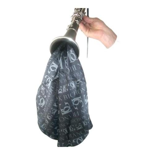 Ecouvillon BG pour clarinette en soie noire
