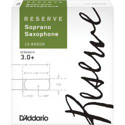 Anche Saxophone Soprano Rico - D'Addario Reserve force 3+ - X10