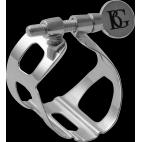 La ligadura de Saxofón Alto BG plata L17 Tradición