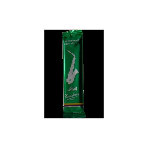 Caña Saxo Tenor Vandoren java resistencia en verde 1