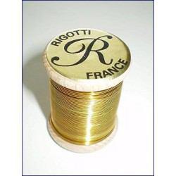 Bobine fil laiton Basson Rigotti diamètre 0.6