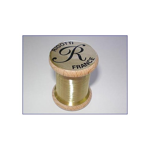 Bobine fil laiton Cor-Anglais Rigotti diamètre 0.35