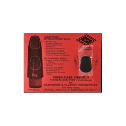 4 protège bec saxophone & clarinette épais/noir
