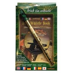Flûte Irlandaise Waltons tonalité en ré pack avec méthode & CD