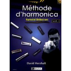 Methode d'harmonica - Spécial Débutant + CD