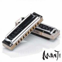 Harmonica Suzuki diatonique Manji Naturel Mineur