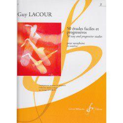Billaudot G. Lacour: 50 études faciles et progressives - Volume 2