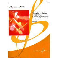 Billaudot G. Lacour: 50 études faciles et progressives - Volume 1