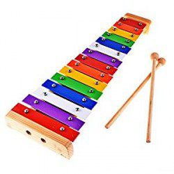 Xylophones 15 tons multicolore
