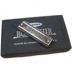 Harmonicas Suzuki diatonique Coffret Bluesmaster