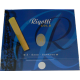 Reed, Saxofón Soprano, Rigotti de oro de fuerza 3.5 x3