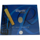 Mundstück Sopran-Saxophon Rigotti gold stärke 3.5 x3