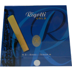 Reed Tenor Saxophone Rigotti gold force 4 x3