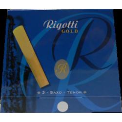 Legere tenorsaxophon Rigotti gold stärke 2 x3