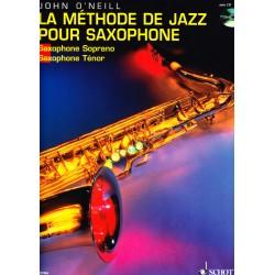 Hal Leonard J. O'Neill La Méthode de Jazz pour Saxophone