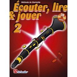De Haske Ecouter, lire et jouer Vol.3 clarinette + CD
