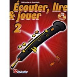 De Haske Ecouter, lire et jouer Vol.2 Hautbois + CD