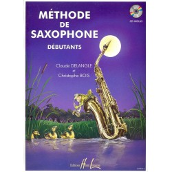 Methode saxophone Lemoine Delangle: Methode de saxophone pour debutant + CD