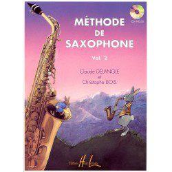 Methode saxophone Lemoine Delangle: Méthode de saxophone pour débutant Vol.2 + CD