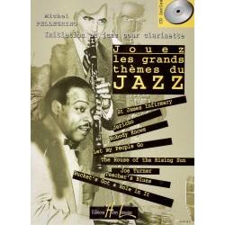 Partition Clarinette Lemoine M. Pellegrino: Jouez les grands thèmes du jazz Vol.1 + CD