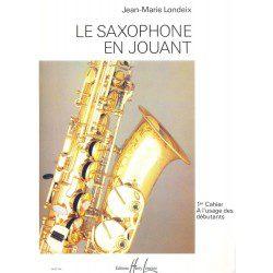 Methode - etude saxophone Lemoine J.M Londeix Saxophone en jouant Vol.1