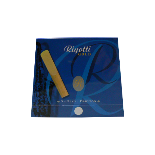 Anche Saxophone Baryton Rigotti gold force 4 x3