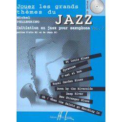 Partition Saxophone Lemoine Pellegrino: Jouez les grands thèmes du jazz + CD Vol.2