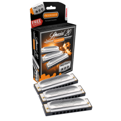 Harmonica Hohner Spécial 20 Pack Pro3