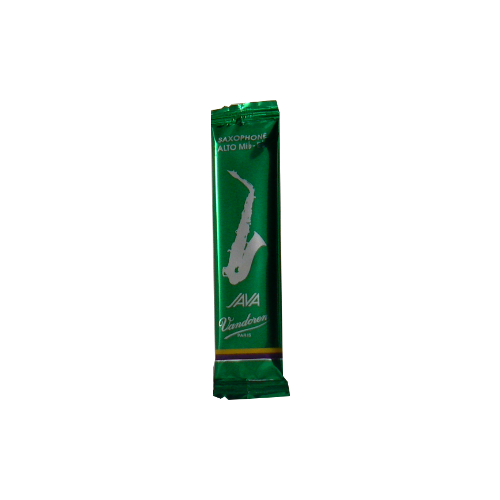 Reed Sax Alto Vandoren java green strength 2.5