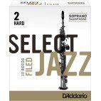 Reed Sax Soprano Rico d'addario jazz force 2h hard filed x10