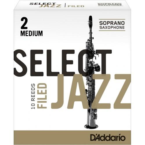 Anche Saxophone Soprano Rico d'addario jazz force 2m medium filed x10