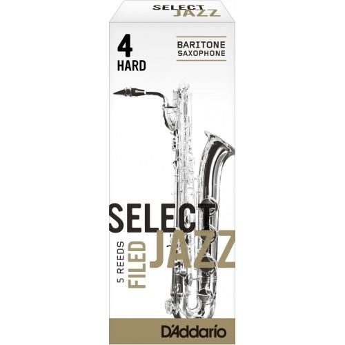Reed Sax Baritone Rico d'addario jazz force 4h hard filed x5