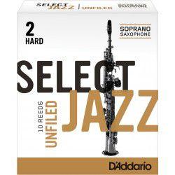 Mundstück Sopran-Saxophon Rico-d ' addario jazz, stärke 2h hard unfiled x10