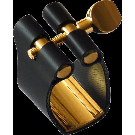Ligature Saxophone Alto BRANCHER AHR S-Rigide pour bec ebonite